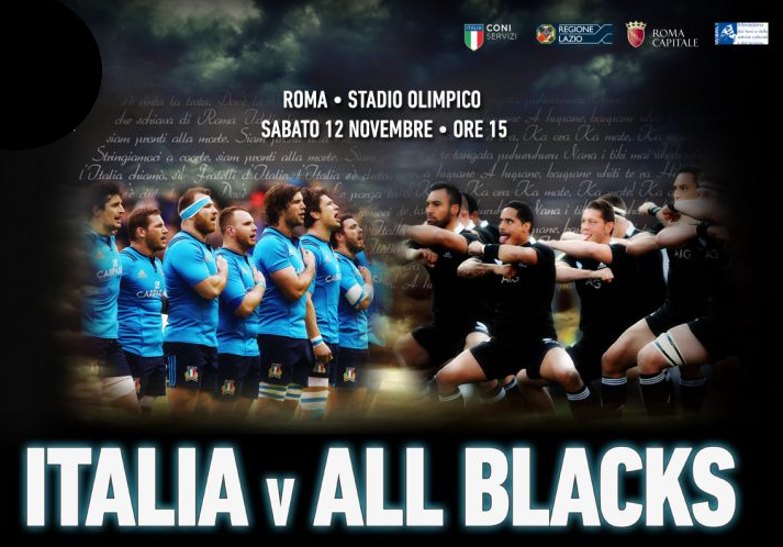 Rugby italia all blacks biglietti
